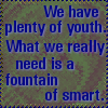 elasait: (fountain of smart)