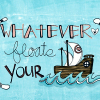 apple_pathways: Whatever floats your boat! (Winter - Snowman)