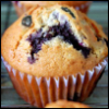 jmtorres: A blueberry muffin on which one could interpret a sadface. (ridiculous, my life is hard woe, emo muffin)