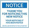 larf: (notice)