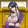 revolutions: Mia Fey from the Ace Attorney series, being channeled via her younger sister. It's kind of hard to explain. (maya-mia)