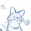 merri: (happy fox)