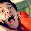 pocketmouse: Rory yelling in glee on the phone (rory_yell)