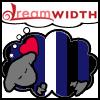 thekinksterera: a sleeping cartoon sheep colored like the leather pride flag (leathersheep)