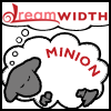 piranha: sheep with MINION stenciled on side dreams of dreamwidth (DW-minion)