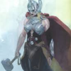 misbegotten: Female Thor (Marvel Jane Foster as Thor)