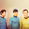 exitsign: (tv: trio; old school (star trek))