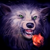 akelych: (wolf smile with rose)