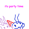 smalldeer: i thought this would be a good way to start off the rime series ([bug] its party time)