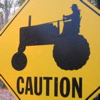 chelidon: (Tractor Caution)