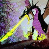 yodepalma: disney's maleficent in dragon form breathing green fire (Default)