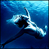 omnipotent: NSFW, nude female torso (Blue are the feelings that live inside)