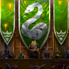 musyc: Illustration of Slytherin house banner (Slytherin: Pottermore banner)
