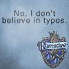 sandmansister: (Elite grammarian, HP - Ravenclaw No Typos)