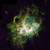 alexeigynaix: Green star nursery (NGC 604)