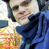 crazyscot: Me at an outside broadcast (Default)