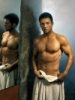 darkarchive: Lee in a towel (Lee Towel)