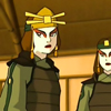 damkianna: A cap of the Kyoshi Warriors from Avatar: The Last Airbender. (think you're hilarious., Probably sarcastic)