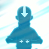 damkianna: A cap of Aang from Avatar: The Last Airbender, in the Avatar State. (This could be my only chance.)