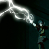 damkianna: A cap of Zuko from Avatar: The Last Airbender, lightningbending. (There has to be another way.)