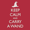anacrusis: keep calm and carry a wand (keep calm and carry a wand)