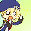 terabient: Super-deformed Noel is shocked (Blazblue: Noel - OH NO)