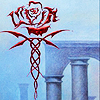 musyc: Barbed rose representing Phedre's marque from Kushiel's Legacy (Kushiel: Marque)