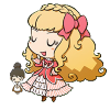 announcemyvictory: Being full of herself, chibi. (where have you been)