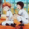 dokuhan: (Mihashi and Tajima)