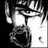 tamarack: (Crow Face and Flower)
