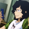 hapaxlegomenon: Teshima texting cap from omake (Teshima texting)
