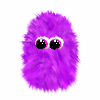 antonomasia: (fuzzy monster, purple)