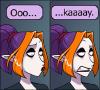 """xtina: Zintiel saying """"Ooo... kaaaay."""" (ohkay, welp)"""