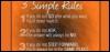 musicislife: (Rules for life)