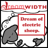 ey: Dream of electric sheep (DW: electric sheep)