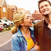 ladysophiekitty: (Doctor/Rose laughing walk)