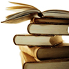 annalee: A stack of old books. (Books)