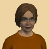 calledtoventure: a woman with rusty-brown hair and an orange shirt (ahrotahn)