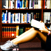 arsenicjade: (in the library)