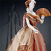 annalee: An 1860s silk taffeta ball gown. (Period Costume)