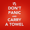 anacrusis: don't panic and carry a towel (don't panic and carry a towel)