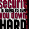 "apollymi: Text only, ""Security is going to run you down hard"" (Incep**Eames/Arthur: Security)"