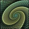 outlineofash: Fractal art. (Abstract - Fractal Green)