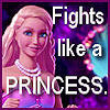 "cereta: Barbie as the Pearl Princess, ""Fights like a PRINCESS"" (Lumina)"