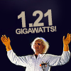 "nenya_kanadka: Doc Brown exclaiming ""1.21 jiggawatts!"" (BTTF 1.21 gigawatts!)"