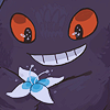 smalldeer: ([gengar] flower)