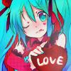 cyberpink: (Vocaloid: Miku Love)