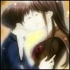 inarticulate: Gakkou de Atta Kowai Hanashi Dating Sim (Apathy): Emi kissing Iwashita. (fall in love)