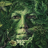 pameladlloyd: Green Woman West - Self Awareness by  Johanna Uribes, c. 2009-2011 (greenwoman)