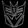 cracked_shield: (Decepticon logo)